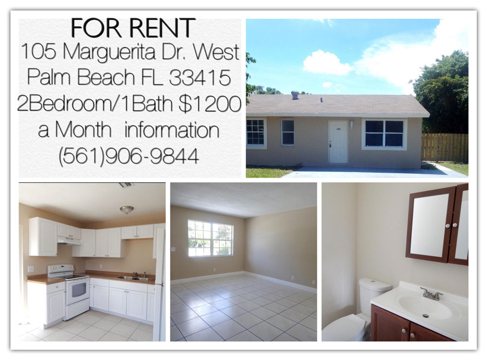 Renting A House In West Palm Beach