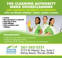 Cleaning Authority jobs