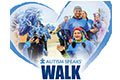 Autism Speaks Walk fund raiser event flyer