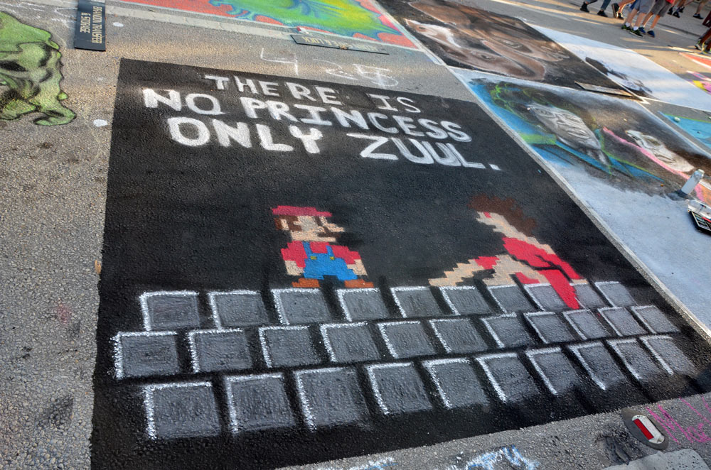Lake Worth Street Painting