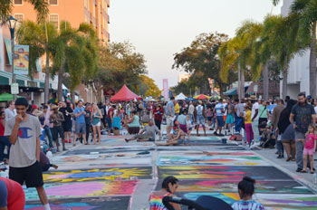 Street Painting Festival in Lake Worth, Florida