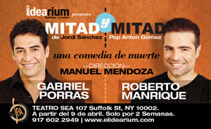 Mitad & Mitad with Gabriel Porras and Roberto Manrique