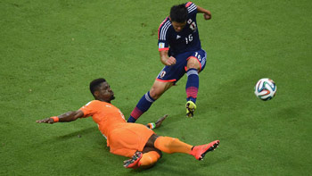 Serge Aurier has been heavily linked with Arsenal and he shone in Ivory Coast's win over Japan.
