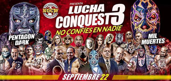 Lucha Conquest III, Trust No One!